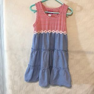 Pinky Summer Dress with Daisy's Size 5